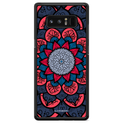 Bjornberry Skal Samsung Galaxy Note 8 - Blå Mandala