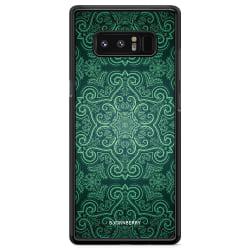 Bjornberry Skal Samsung Galaxy Note 8 - Grön Retromönster