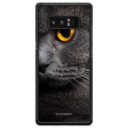 Bjornberry Skal Samsung Galaxy Note 8 - Katt Öga