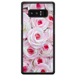 Bjornberry Skal Samsung Galaxy Note 8 - Rosa Rosor