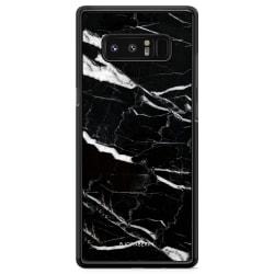 Bjornberry Skal Samsung Galaxy Note 8 - Svart Marmor