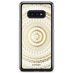Bjornberry Skal Samsung Galaxy S10e - Guld Mandala