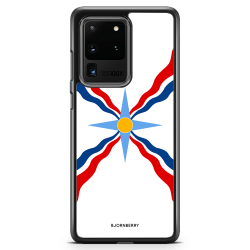 Bjornberry Skal Samsung Galaxy S20 Ultra - Assyriska flaggan