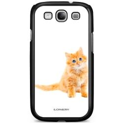 Bjornberry Skal Samsung Galaxy S3 Mini - Liten Brun Katt