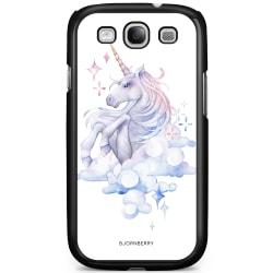 Bjornberry Skal Samsung Galaxy S3 Mini - Vattenfärg Enhörning