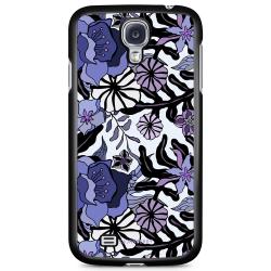 Bjornberry Skal Samsung Galaxy S4 Mini - Lila Blommor