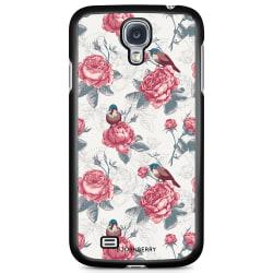 Bjornberry Skal Samsung Galaxy S4 Mini - Rosor & Fåglar