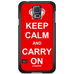 Bjornberry Skal Samsung Galaxy S5 Mini - Keep calm carry on