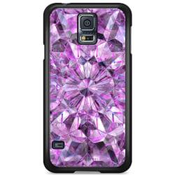 Bjornberry Skal Samsung Galaxy S5 Mini - Lila Kristaller