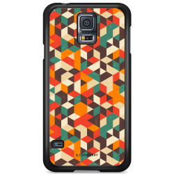 Bjornberry Skal Samsung Galaxy S5 Mini - Retro Geometri