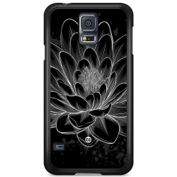 Bjornberry Skal Samsung Galaxy S5 Mini - Svart/Vit Lotus