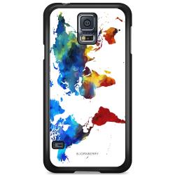 Bjornberry Skal Samsung Galaxy S5 Mini - Världskarta