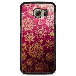 Bjornberry Skal Samsung Galaxy S6 Edge+ - Snöflingor