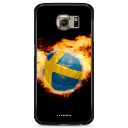 Bjornberry Skal Samsung Galaxy S6 Edge - Sverige Fotboll