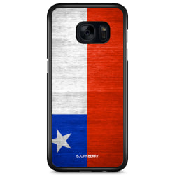 Bjornberry Skal Samsung Galaxy S7 Edge - Chiles Flagga