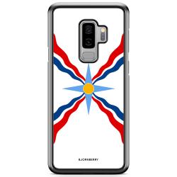 Bjornberry Skal Samsung Galaxy S9 Plus - Assyriska flaggan
