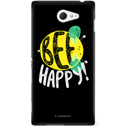 Bjornberry Skal Sony Xperia M2 Aqua - BEE Happy
