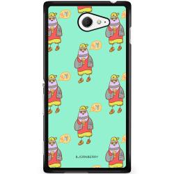Bjornberry Skal Sony Xperia M2 Aqua - Cool Fågel