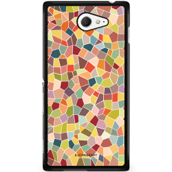 Bjornberry Skal Sony Xperia M2 Aqua - Mosaik