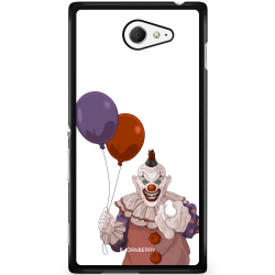 Bjornberry Skal Sony Xperia M2 Aqua - Scary Clown