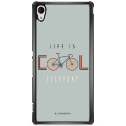 Bjornberry Skal Sony Xperia M4 Aqua - Life Is Cool