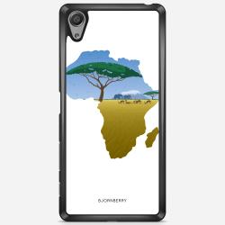 Bjornberry Skal Sony Xperia X Performance - Afrika Vit