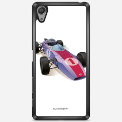 Bjornberry Skal Sony Xperia X Performance - Klassisk F1 Bil
