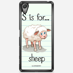 Bjornberry Skal Sony Xperia X Performance - S is for Sheep