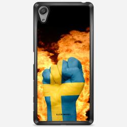 Bjornberry Skal Sony Xperia X Performance - Sverige Hand