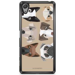 Bjornberry Skal Sony Xperia X - Söta Hundar