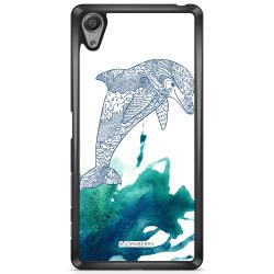 Bjornberry Skal Sony Xperia XA - Mandala Delfin