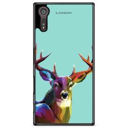 Bjornberry Skal Sony Xperia XZ / XZs - Färgglad Hjort