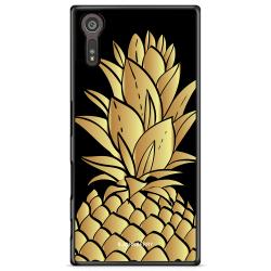Bjornberry Skal Sony Xperia XZ / XZs - Guldig Ananas