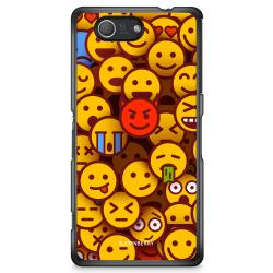 Bjornberry Skal Sony Xperia Z3 Compact - Emojis