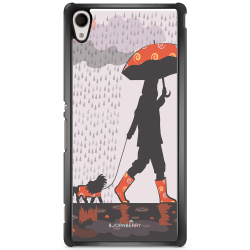 Bjornberry Skal Sony Xperia Z3+ - Promenad i Regnet