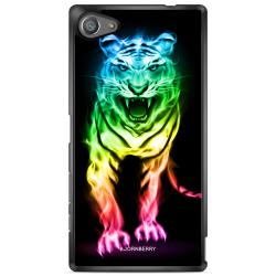 Bjornberry Skal Sony Xperia Z5 Compact - Fire Tiger