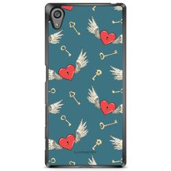 Bjornberry Skal Sony Xperia Z5 - Hjärtan med Vingar
