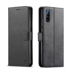 Bjornberry Sony Xperia L4 Plånboksfodral - Svart