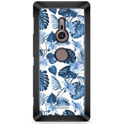 Bjornberry Sony Xperia XZ2 Skal - Blå Blommor