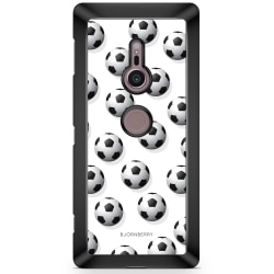Bjornberry Sony Xperia XZ2 Skal - Fotbolls Mönster