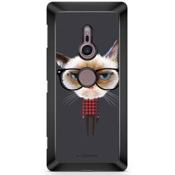 Bjornberry Sony Xperia XZ2 Skal - Hipster Katt