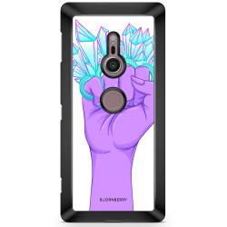 Bjornberry Sony Xperia XZ2 Skal - Kristaller & Hand