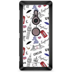 Bjornberry Sony Xperia XZ2 Skal - UK Mönster