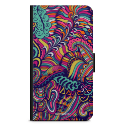 Bjornberry Xiaomi Mi Note 10 Lite Fodral - Abstract Floral