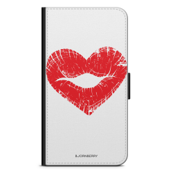 Bjornberry Xiaomi Mi Note 10 Lite Fodral - Hjärta Läppar