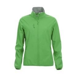 Softshelljacka dam S grön S