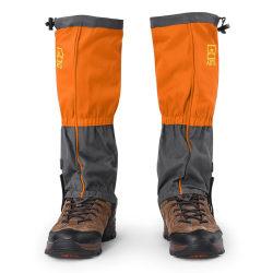 1 Pair Outdoor Waterproof Sports Climbing Hiking Legging Gai orange