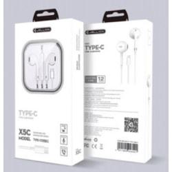 Hörlurar Jellico TYP C Vita Med Mikrofon