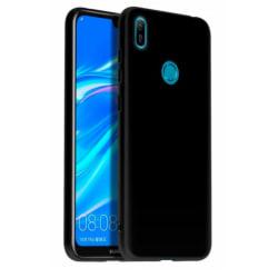 Mobilskal Huawei Y6S / Y6 2019 Matt Svart