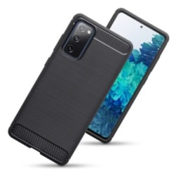 Samsung Galaxy S20 FE 5G Skal Karbon Svart